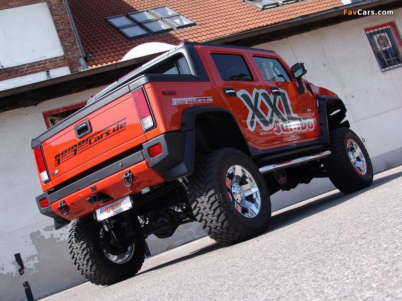 Geiger Hummer H2 SUT Jumbo XXL 2008 wallpapers (800 x 600)