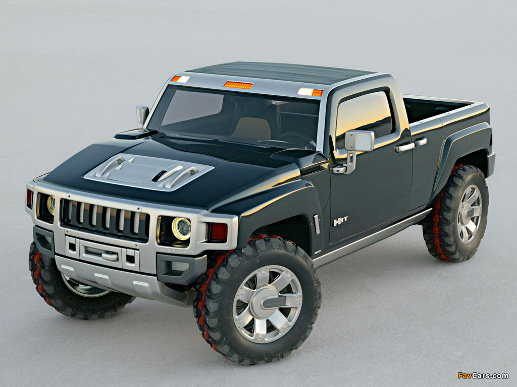 Hummer H3T Concept 2004 images (1024 x 768)