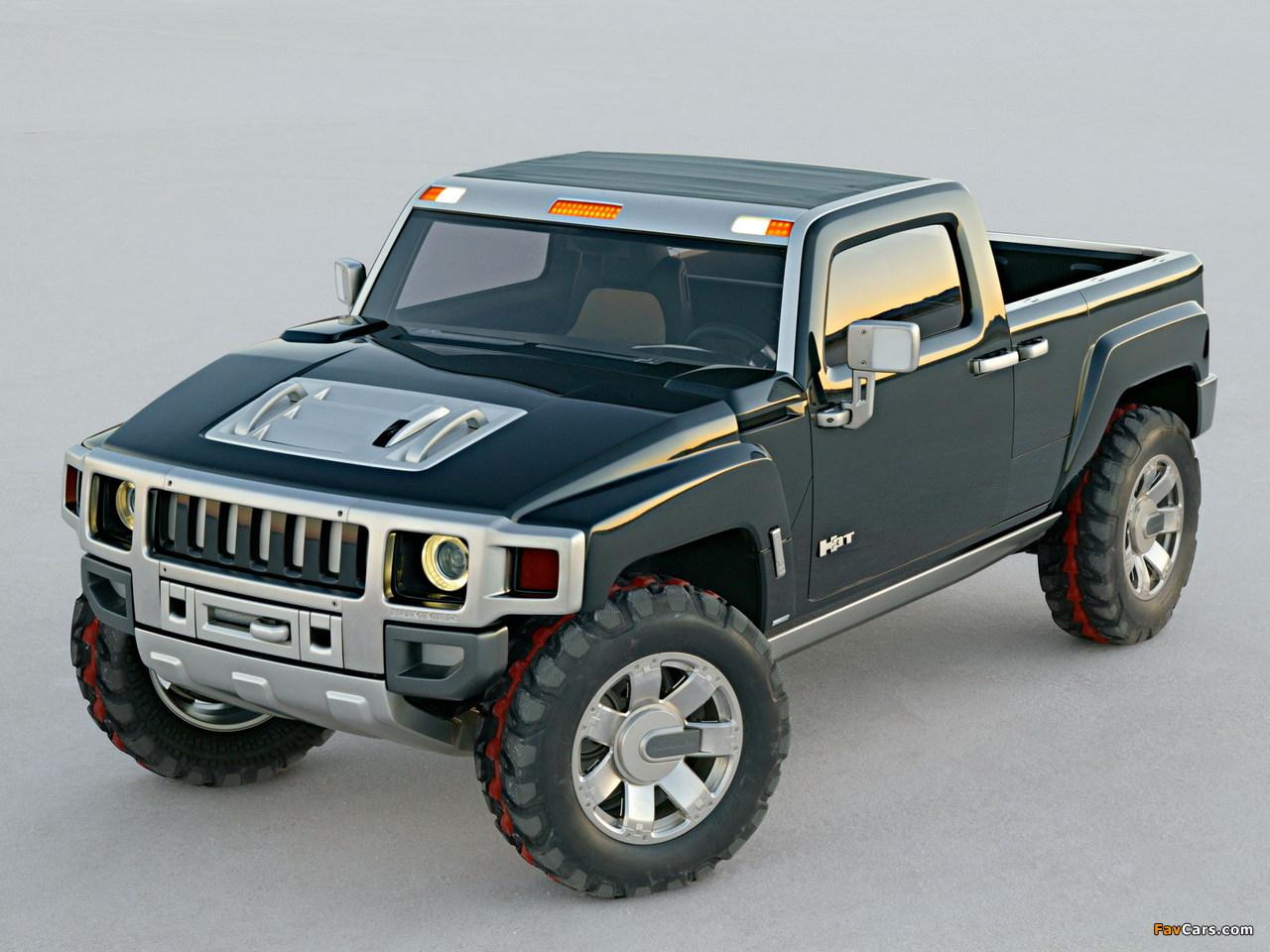 Hummer H3T Concept 2004 images (1280 x 960)