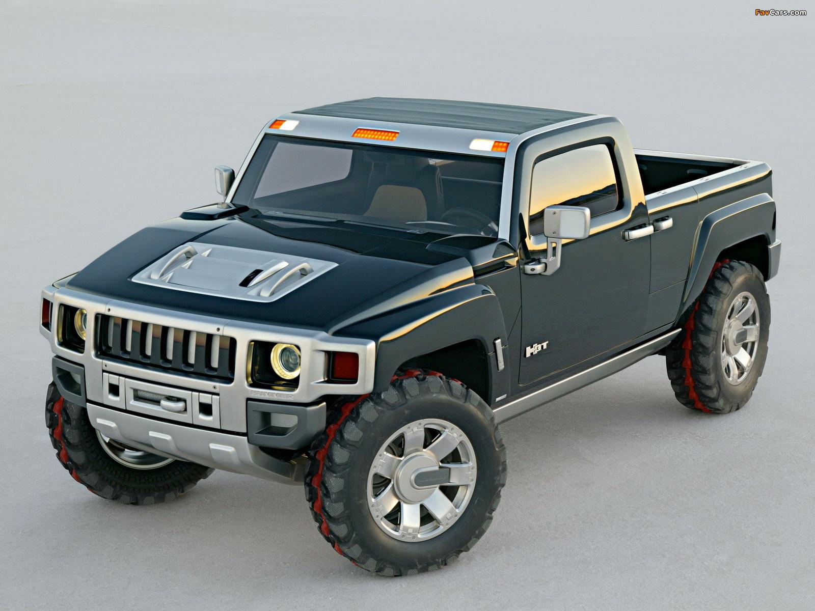 Hummer H3T Concept 2004 images (1600 x 1200)