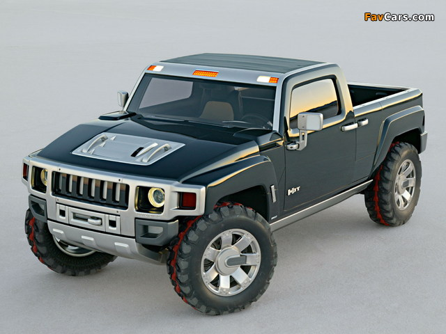 Hummer H3T Concept 2004 images (640 x 480)