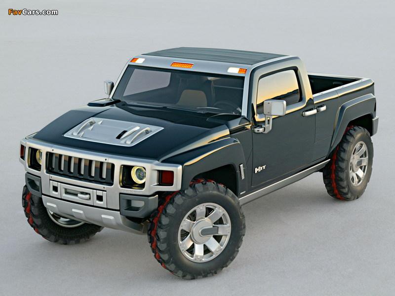 Hummer H3T Concept 2004 images (800 x 600)