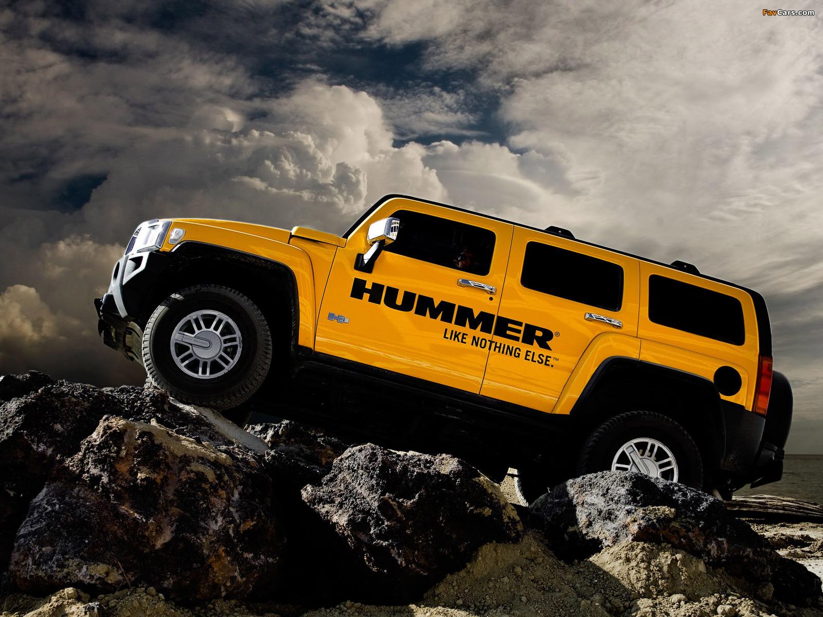 Hummer H3 2005–10 images (1600 x 1200)
