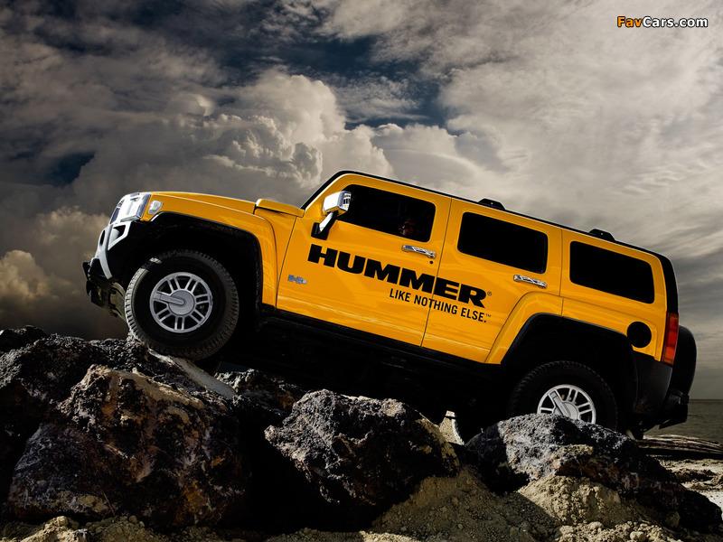 Hummer H3 2005–10 images (800 x 600)