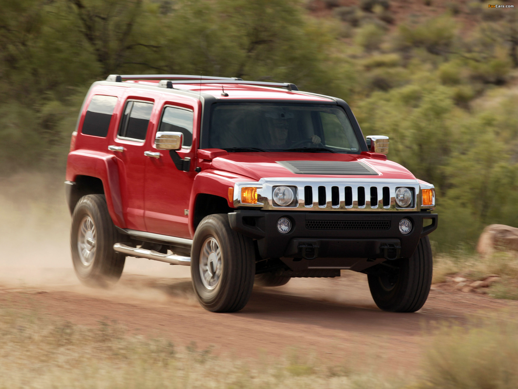 Hummer H3 2005–10 pictures (2048 x 1536)