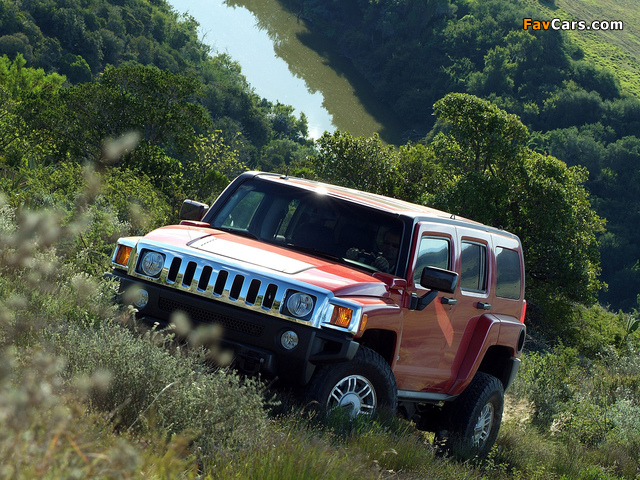 Hummer H3 2005–10 pictures (640 x 480)