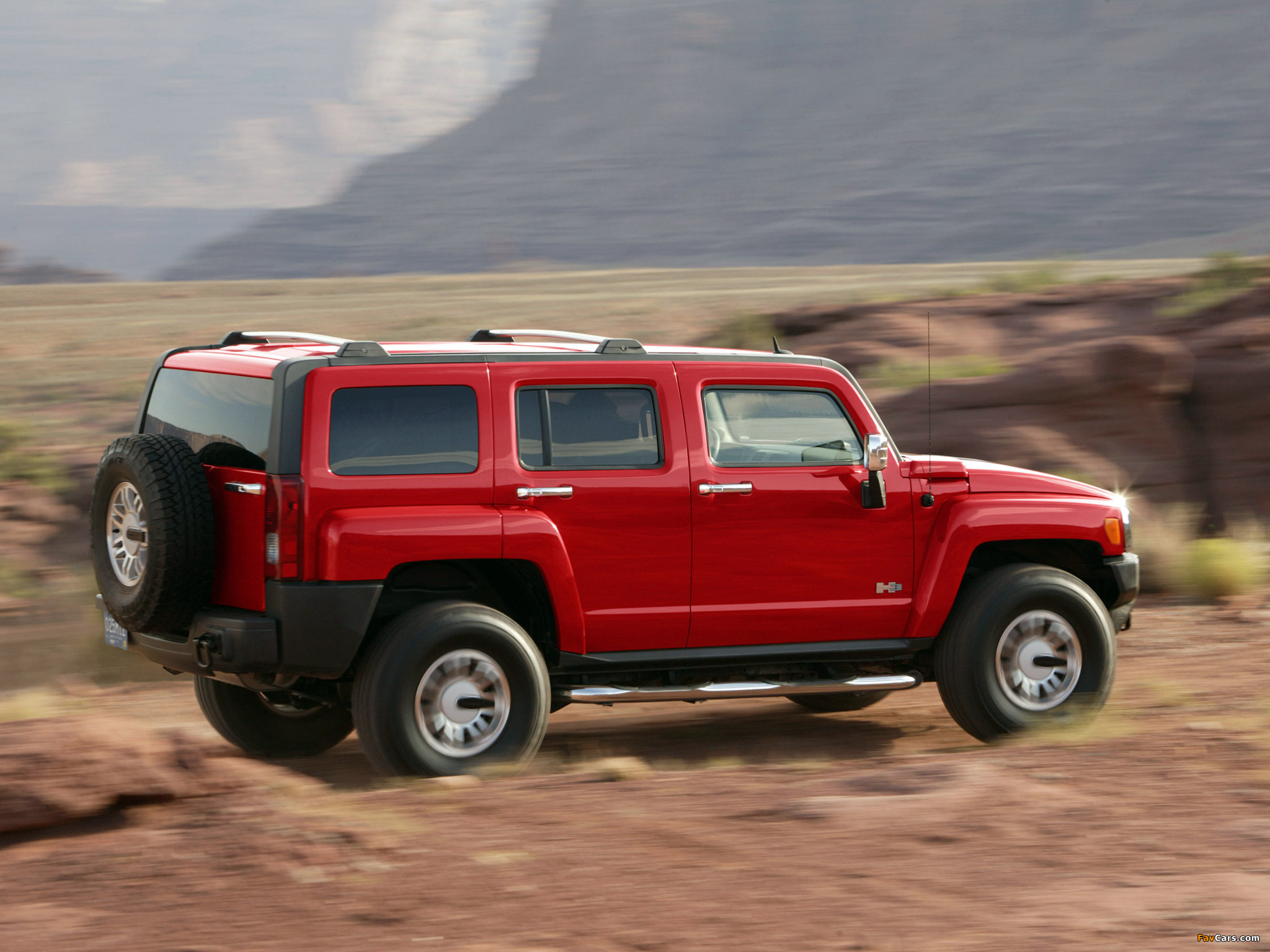 Hummer H3 2005–10 wallpapers (2048 x 1536)