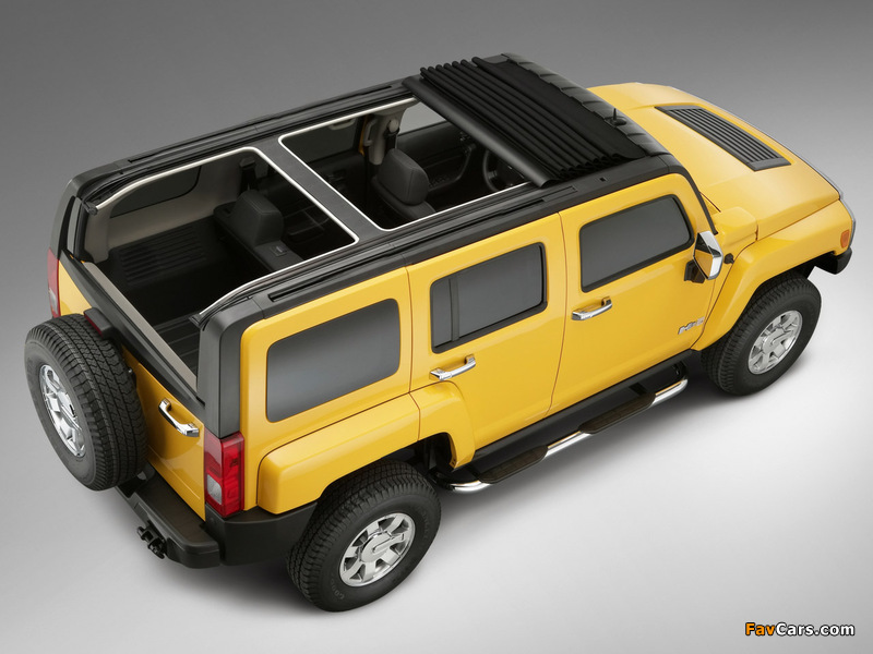 ASC Cosmos Hummer H3 2006–10 images (800 x 600)