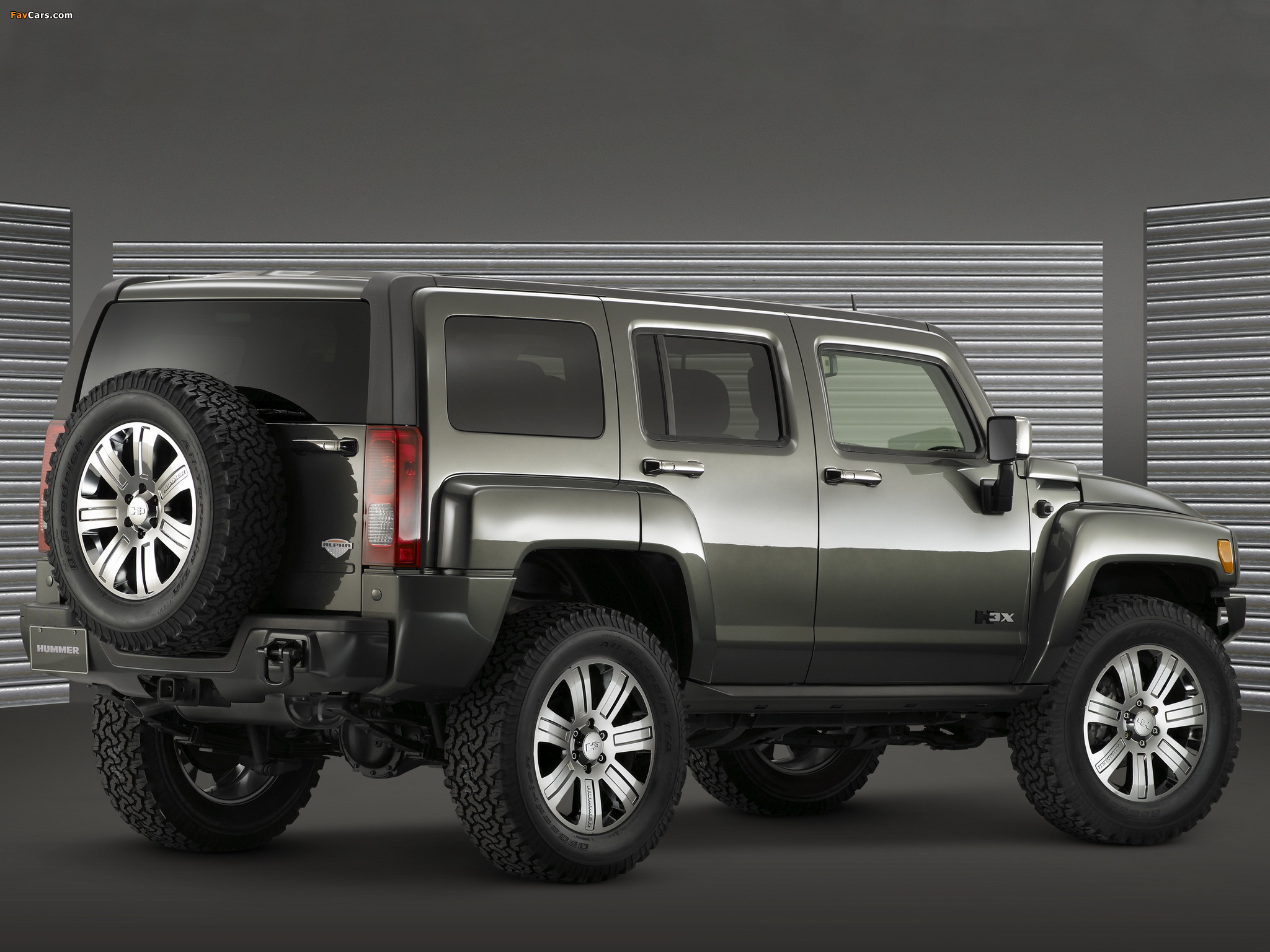 Hummer H3x Concept 2006 wallpapers (2048 x 1536)