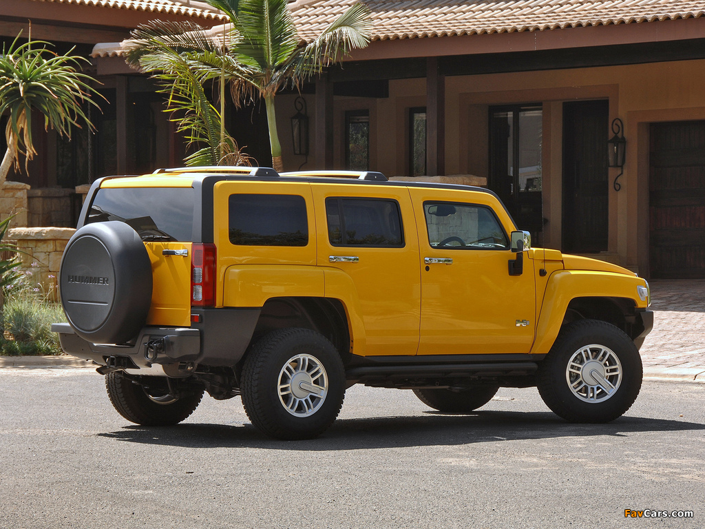 Hummer H3 ZA-spec 2007–10 pictures (1024 x 768)