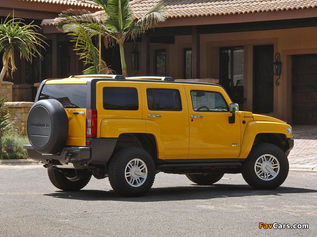 Hummer H3 ZA-spec 2007–10 pictures (640 x 480)
