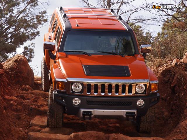 Hummer H3 Alpha 2008–10 photos (640 x 480)