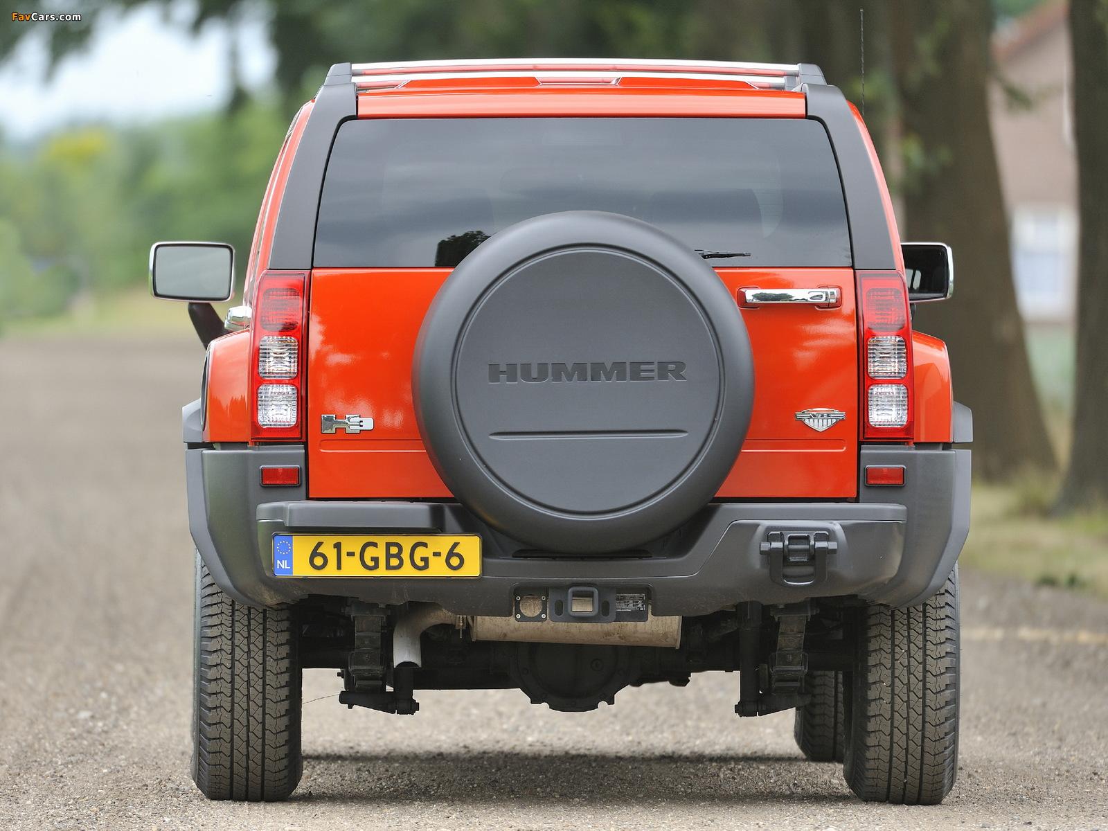 Hummer H3 V8 2008–10 pictures (1600 x 1200)