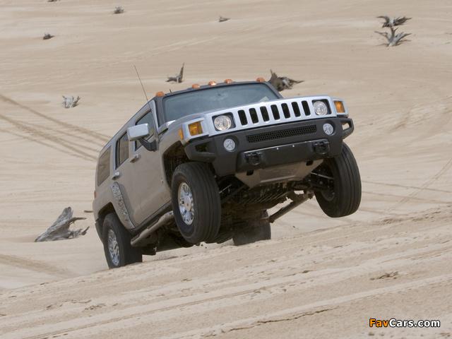 Images of Hummer H3 2005–10 (640 x 480)