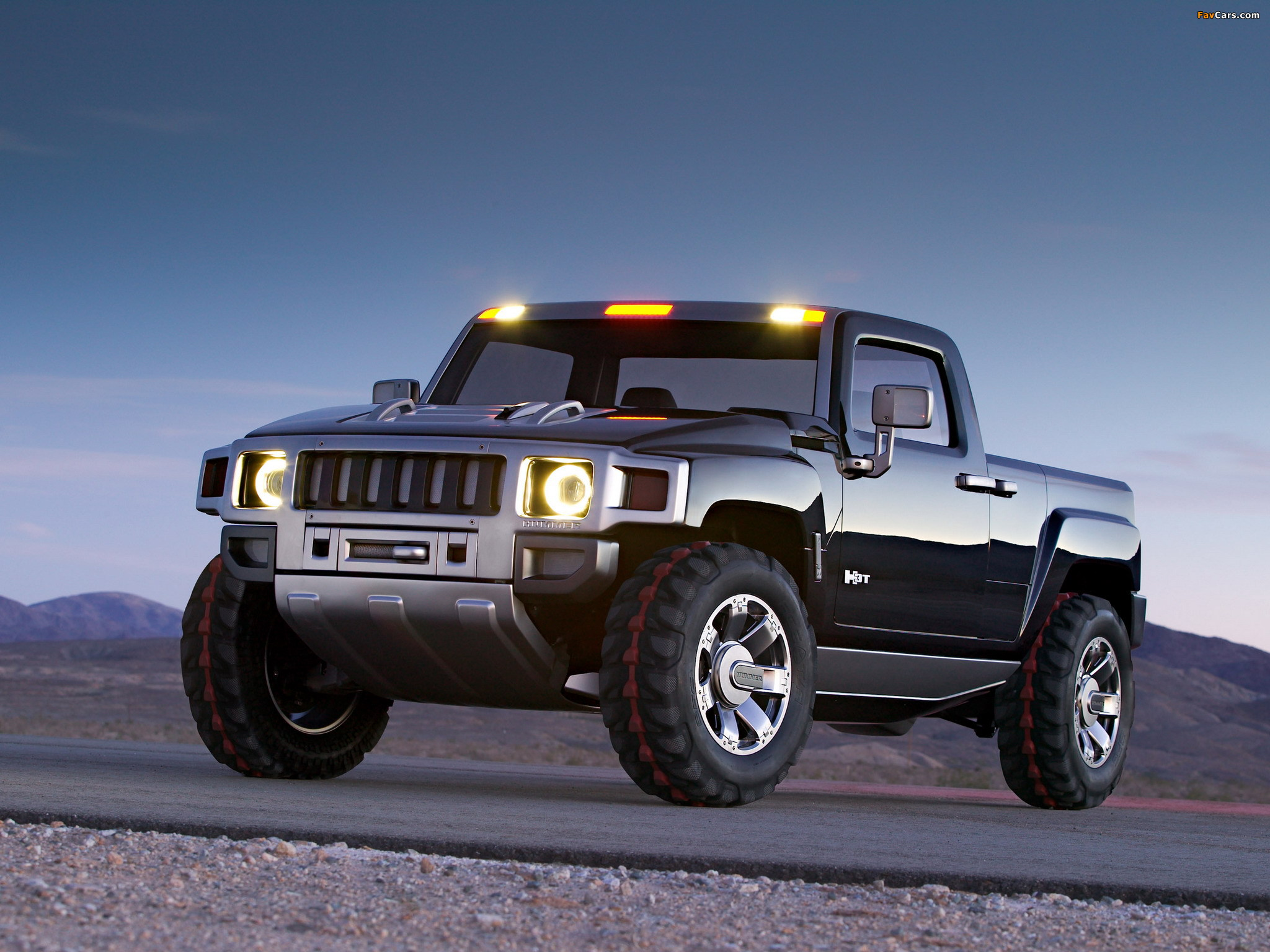 Photos of Hummer H3T Concept 2004 (2048 x 1536)