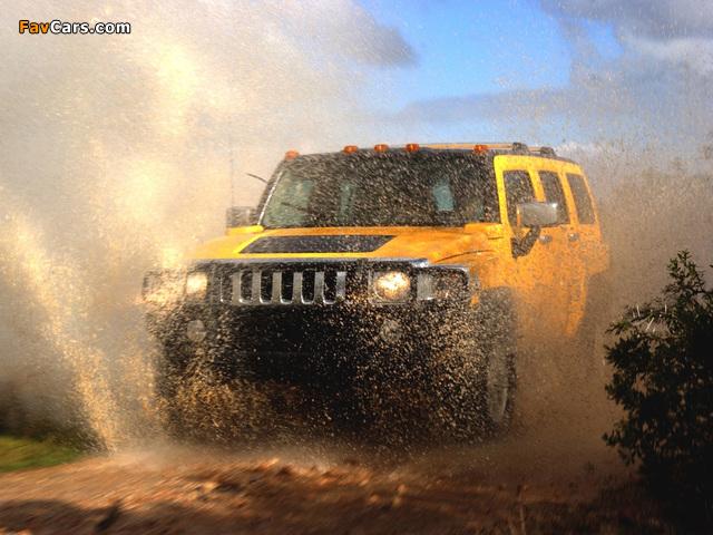 Photos of Hummer H3 2005–10 (640 x 480)