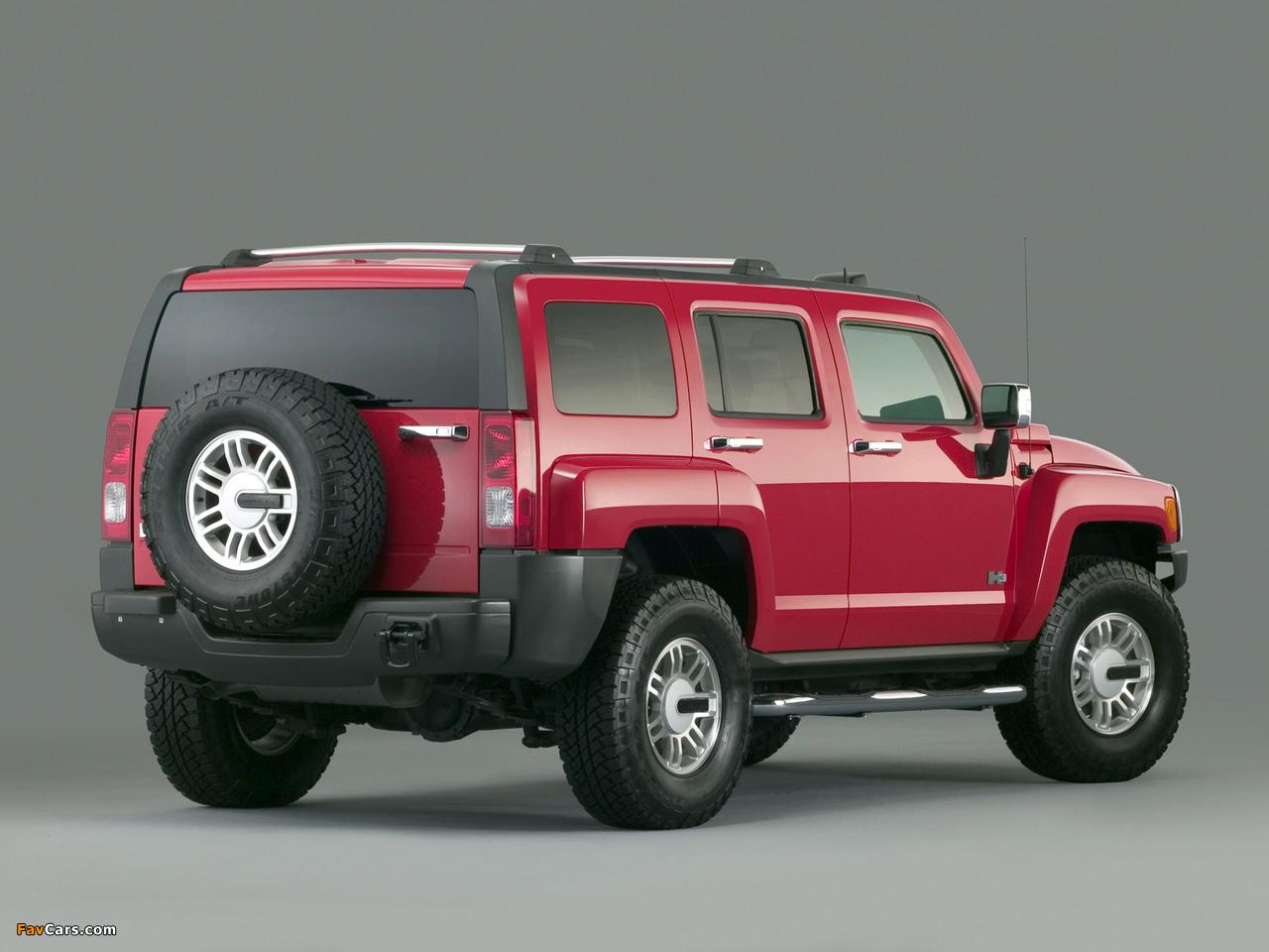Photos of Hummer H3 2005–10 (1280 x 960)