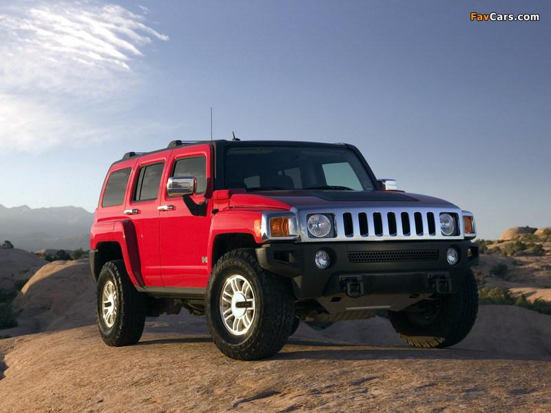 Photos of Hummer H3 2005–10 (800 x 600)