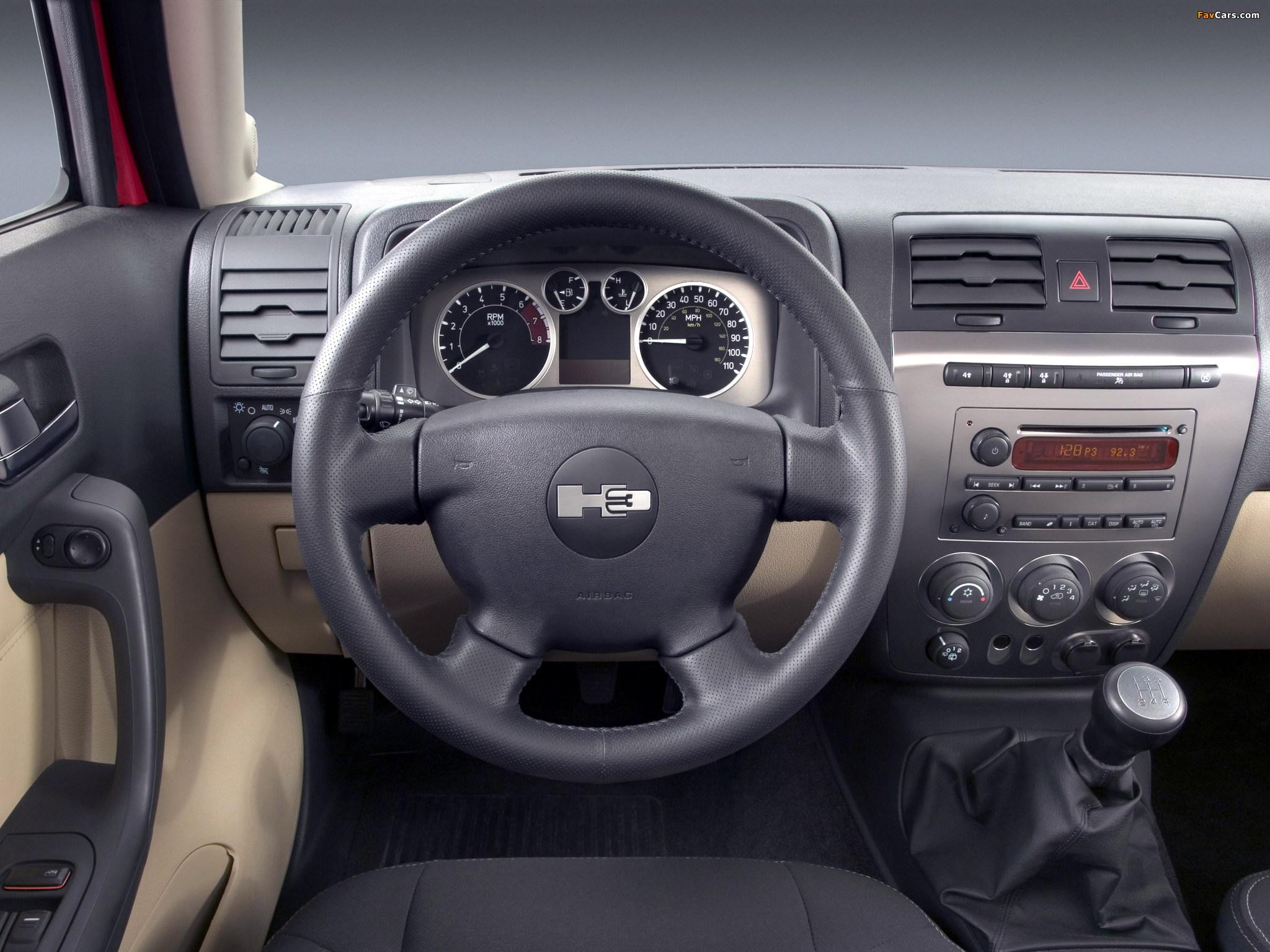 Photos of Hummer H3 2005–10 (2048 x 1536)