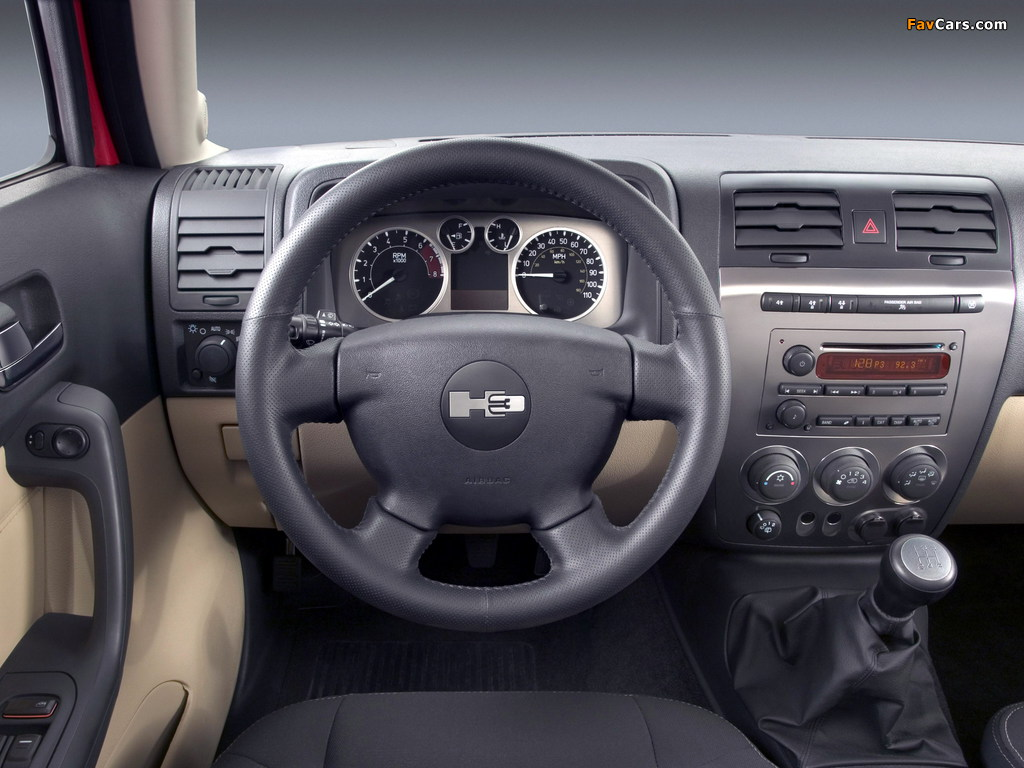 Photos of Hummer H3 2005–10 (1024 x 768)