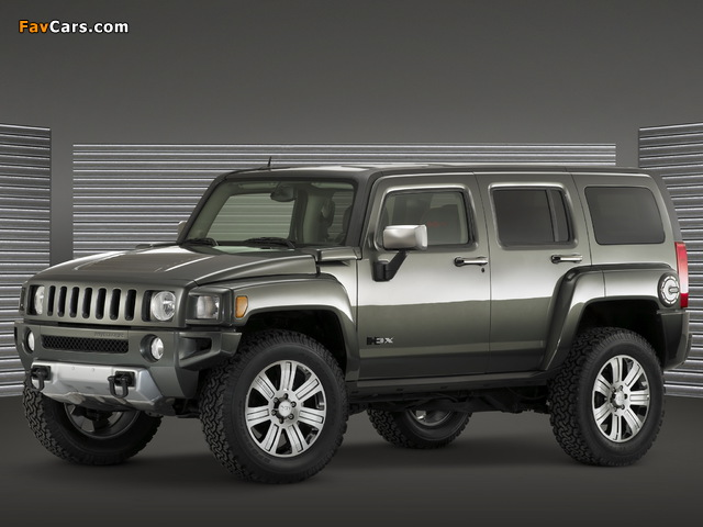 Photos of Hummer H3x Concept 2006 (640 x 480)