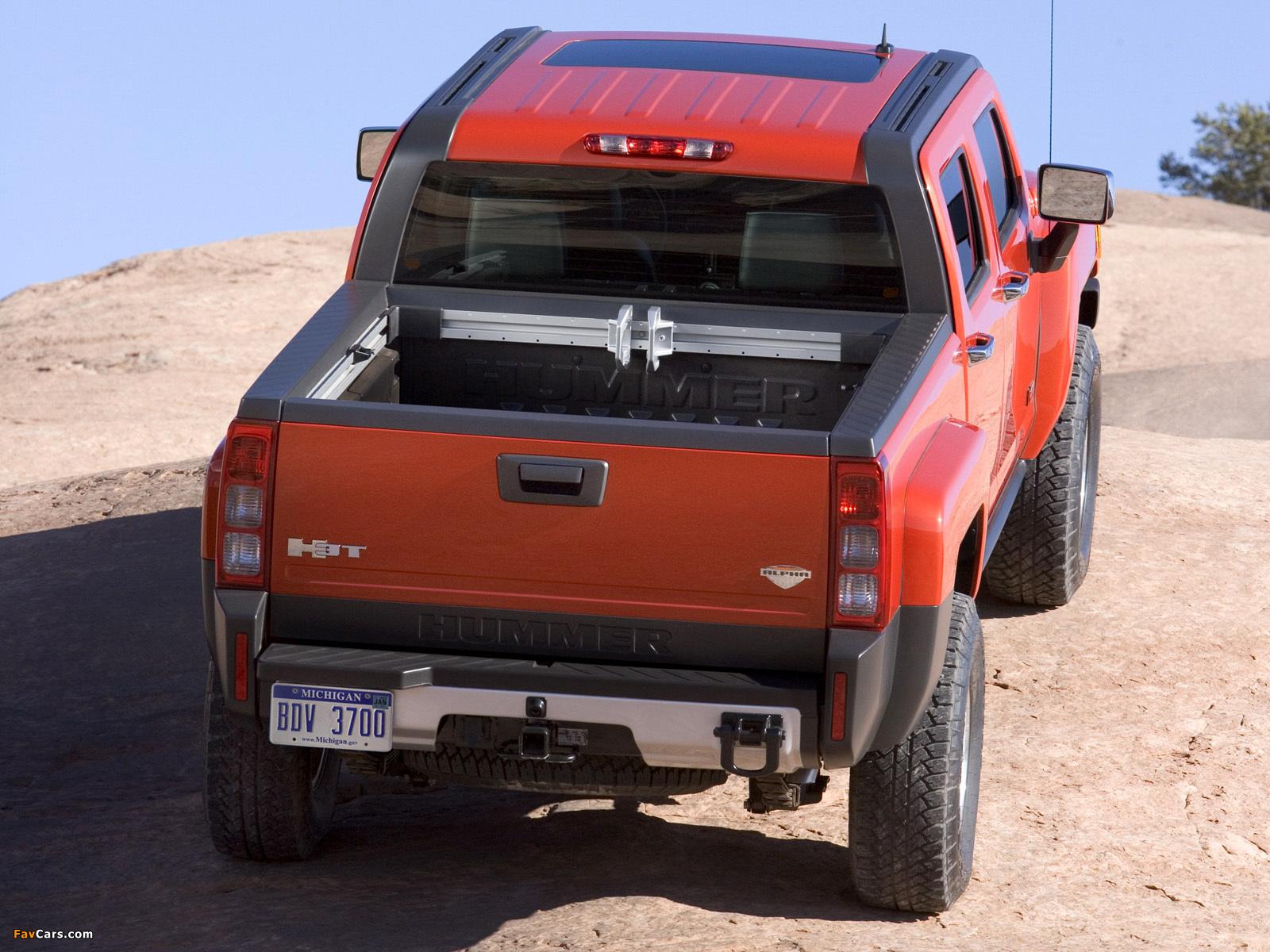 Photos of Hummer H3T Alpha 2008–10 (1600 x 1200)