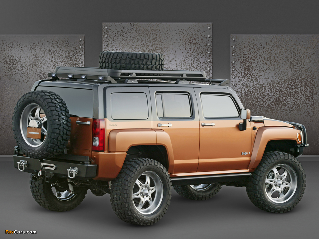 Pictures of Hummer H3 Rugged Concept 2005 (1024 x 768)