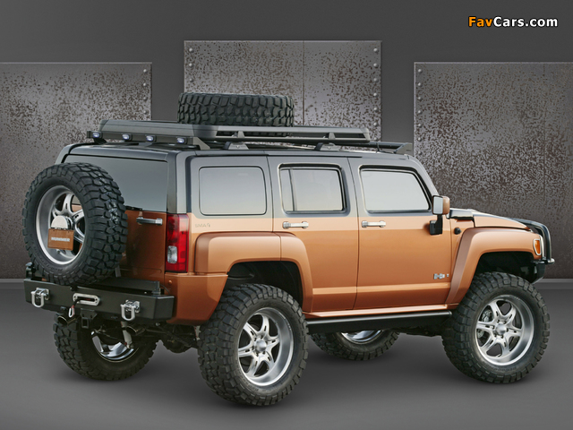 Pictures of Hummer H3 Rugged Concept 2005 (640 x 480)