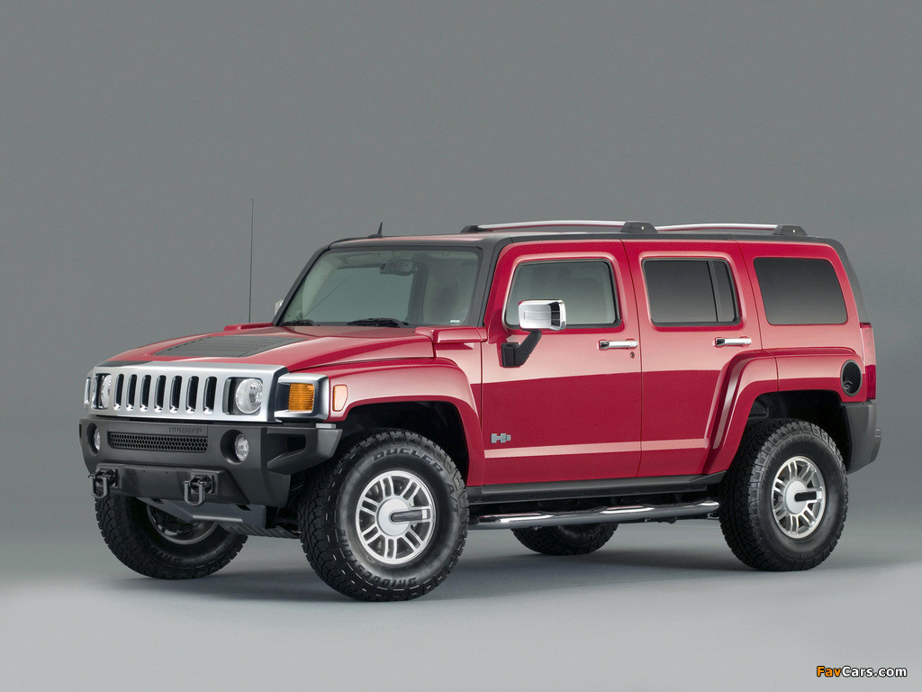 Pictures of Hummer H3 2005–10 (1024 x 768)