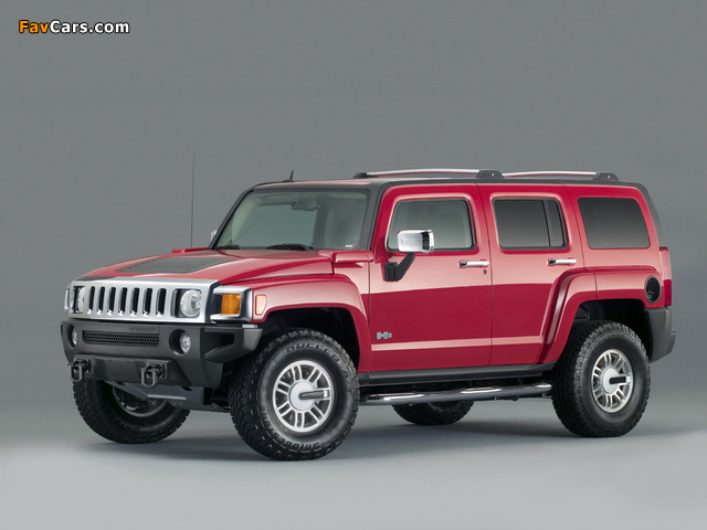 Pictures of Hummer H3 2005–10 (640 x 480)