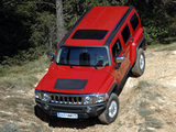 Pictures of Hummer H3 EU-spec 2007–10
