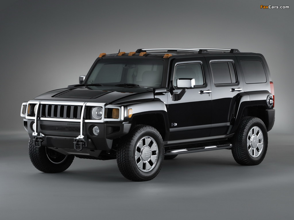 Pictures of Hummer H3x 2007–10 (1024 x 768)