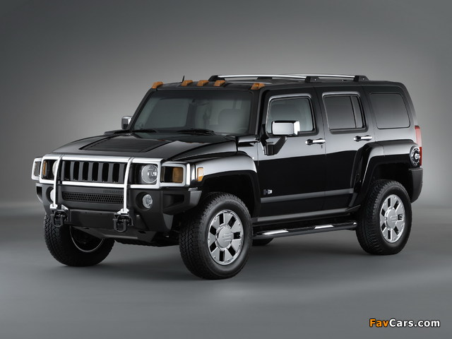 Pictures of Hummer H3x 2007–10 (640 x 480)