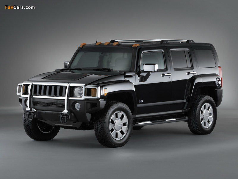 Pictures of Hummer H3x 2007–10 (800 x 600)