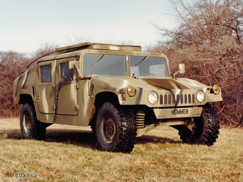 HMMWV M998 1983–84 photos (800 x 600)