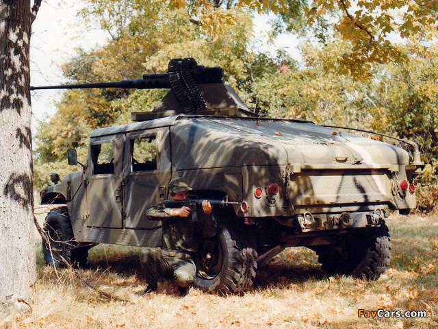 Images of HMMWV XM998 Prototype III 1982 (640 x 480)
