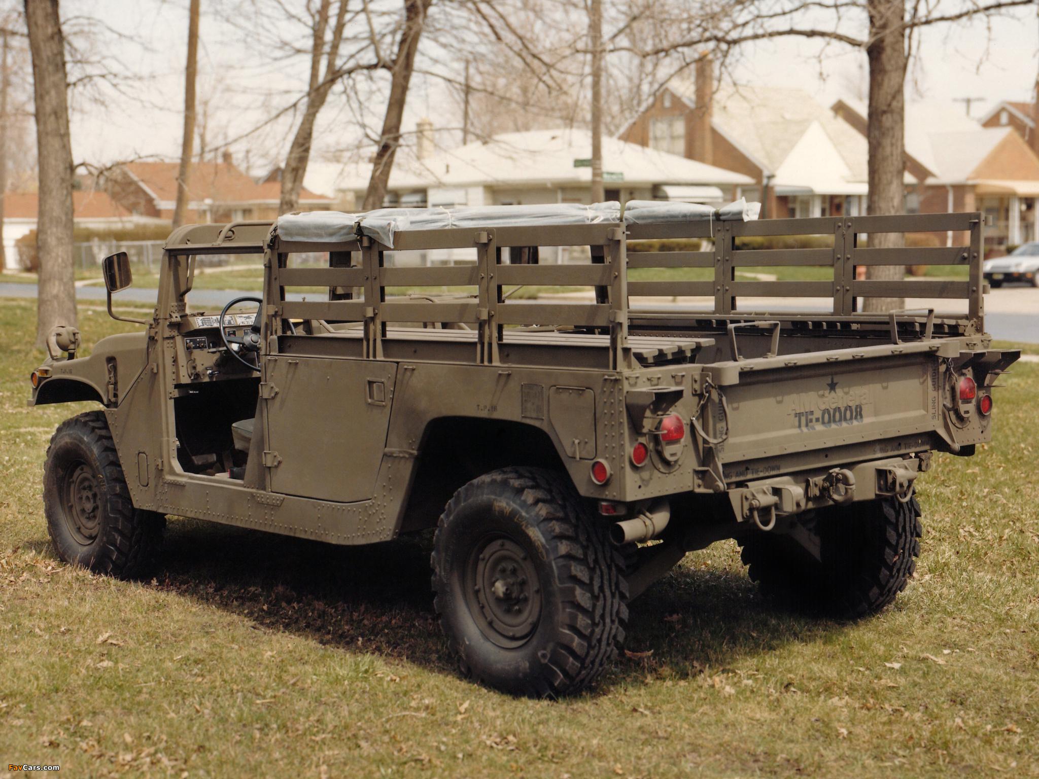 Photos of HMMWV XM998 Prototype II 1981–82 (2048 x 1536)