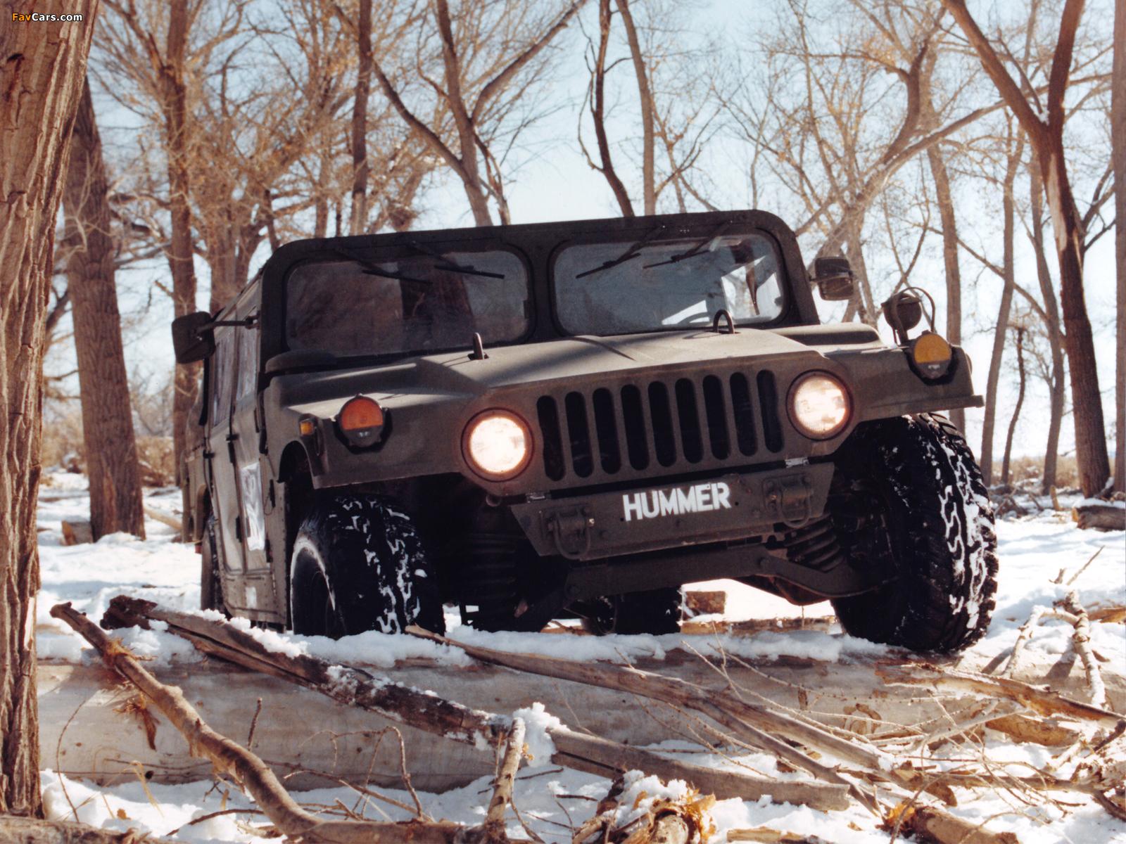 Pictures of HMMWV XM998 Prototype II 1981–82 (1600 x 1200)