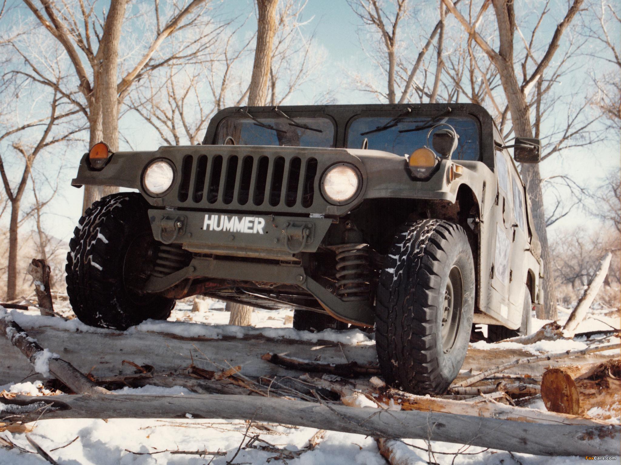 Pictures of HMMWV XM998 Prototype II 1981–82 (2048 x 1536)