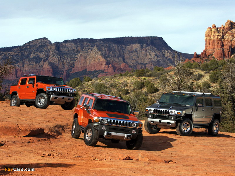 Hummer H2 SUT & H3 Alpha & H2 2008 wallpapers (800 x 600)