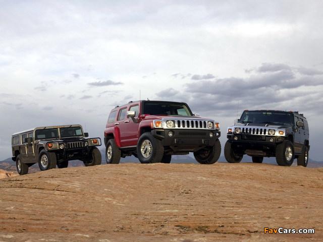 Hummer photos (640 x 480)