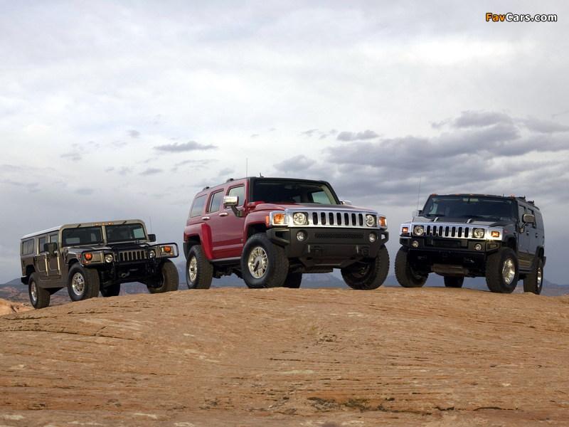 Hummer photos (800 x 600)