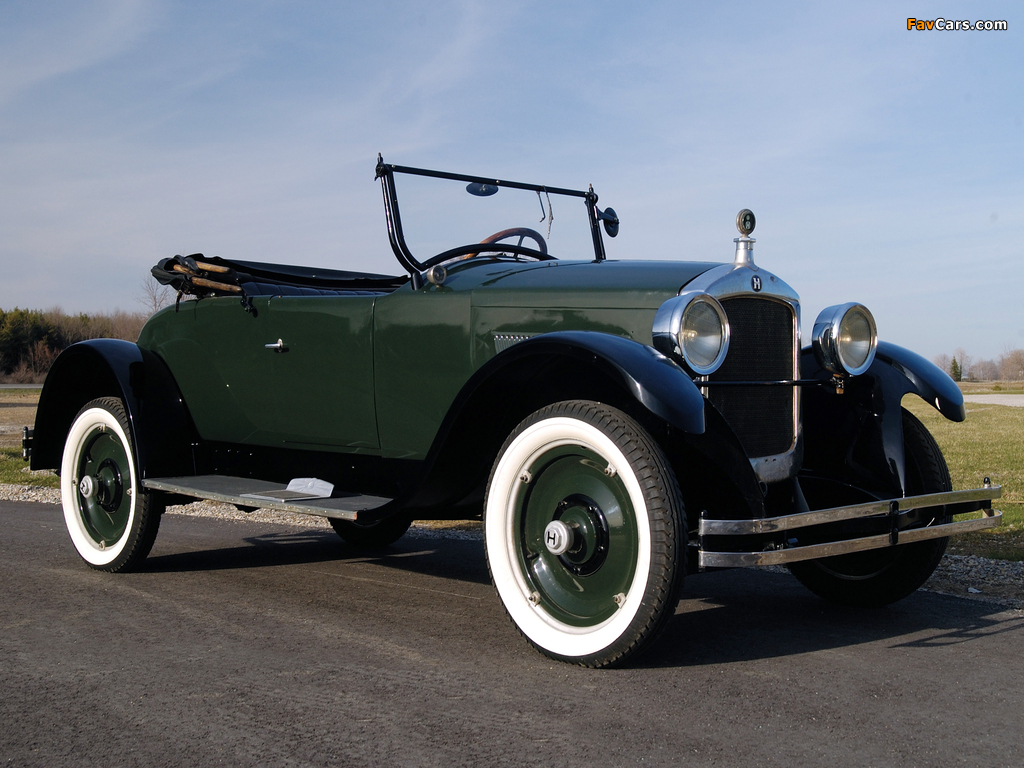Photos of Hupmobile Series R Special Roadster 1924– (1024 x 768)