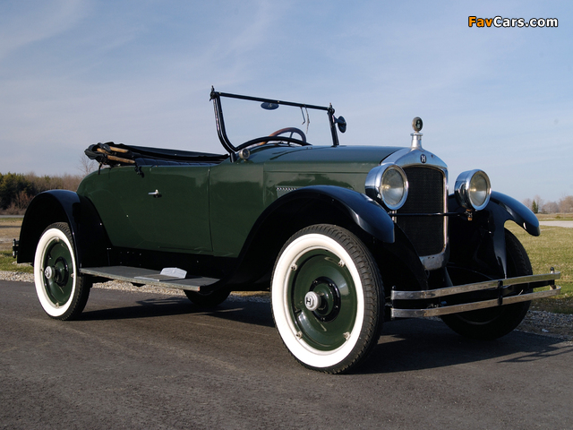 Photos of Hupmobile Series R Special Roadster 1924– (640 x 480)