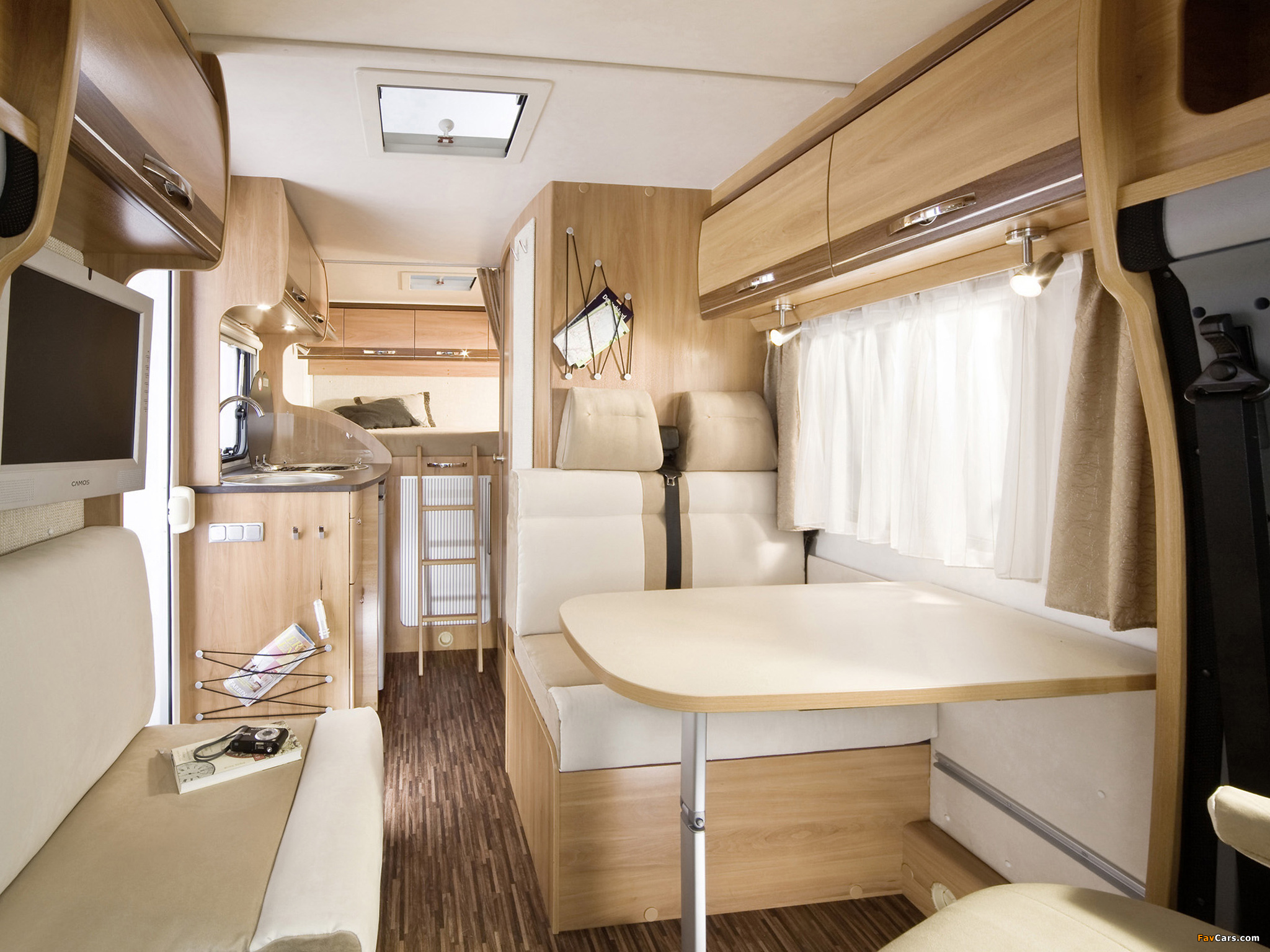 pictures of hymer van 512 silverline 2009 2048x1536. Black Bedroom Furniture Sets. Home Design Ideas