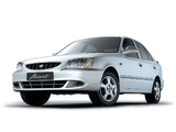 Hyundai Accent Sedan 2000 wallpapers
