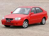 Hyundai Accent 5-door AU-spec 2003–06 images