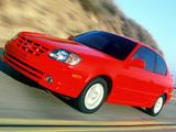 Hyundai Accent 3-door US-spec 2003–06 images