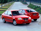Hyundai Accent 3-door AU-spec 2003–06 photos