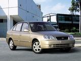 Hyundai Accent Sedan 2003–06 photos